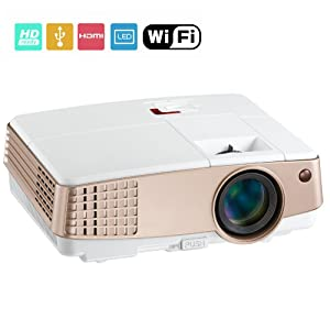 Tm c800i video rechargeable multimedia home pico support for Small projector wireless