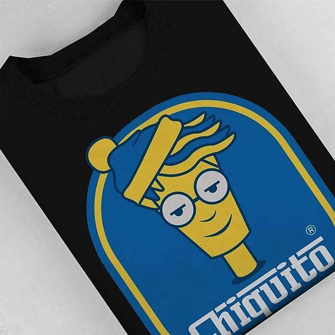 Cloud City 7 Wheres Wally Banana Logo Mens Sweatshirt: Amazon.es: Ropa y accesorios