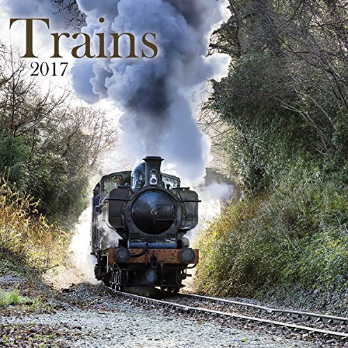 Turner Photo 2017 Trains Photo Wall Calendar, 12 x 24 inches opened (17998940056)
