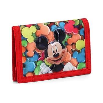 Karactermania Mickey Mouse Delicious Monederos, 12 cm, Rojo