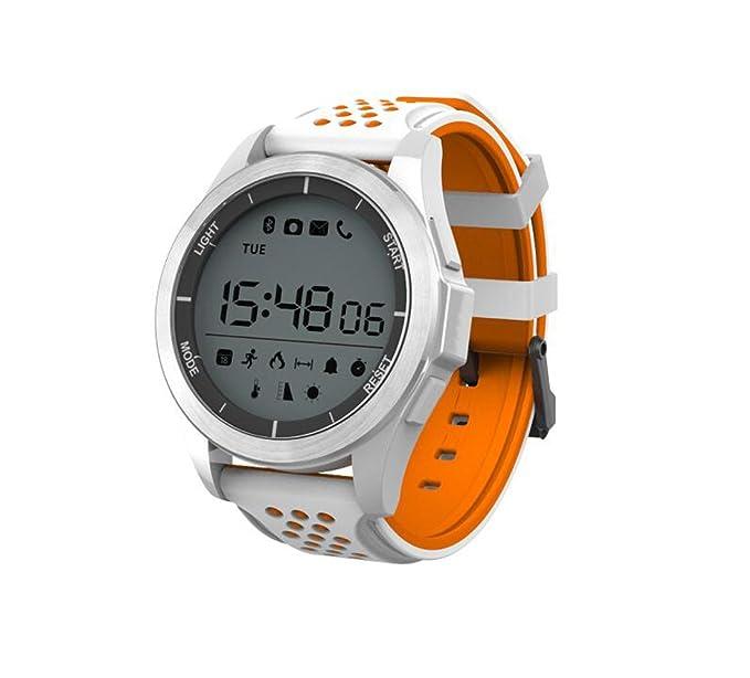 Reloj inteligente multifunción Reloj deportivo giratorio inteligente Fitness Deporte al aire libre Presión altímetro Luminoso Impermeable