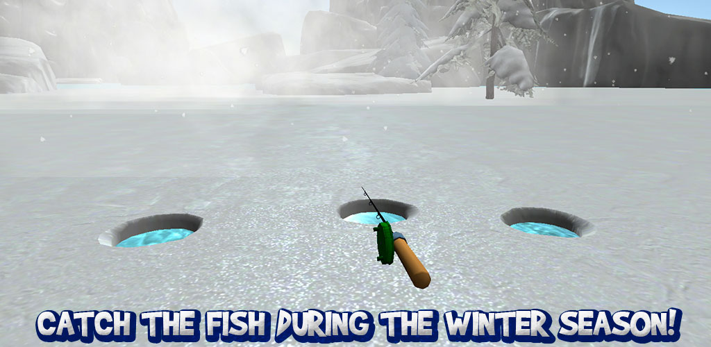 Catch the fish ice winter fishing 3d for Ice fishing apps