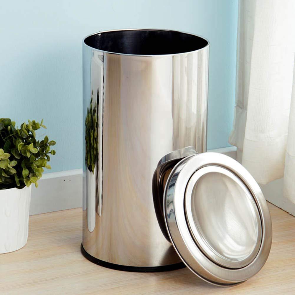Amazon.com: YANZHEN - Cubo de basura con tapa de goma ...