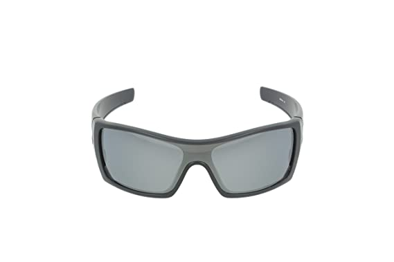 Amazon.com  Oakley mens Batwolf OO9101-35 Iridium Polarized Sport Sunglasses,Matte  Black Ink Frame Black Iridium Lens,127 mm  Oakley  Clothing fb0ada9483