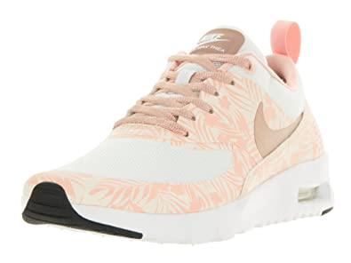 purchase cheap c8128 8fc2a Nike Kids Air Max Thea Print (GS) White/MTLC Rd Brnz/PRL Wht/Arc Running  Shoe 6.5 Kids US