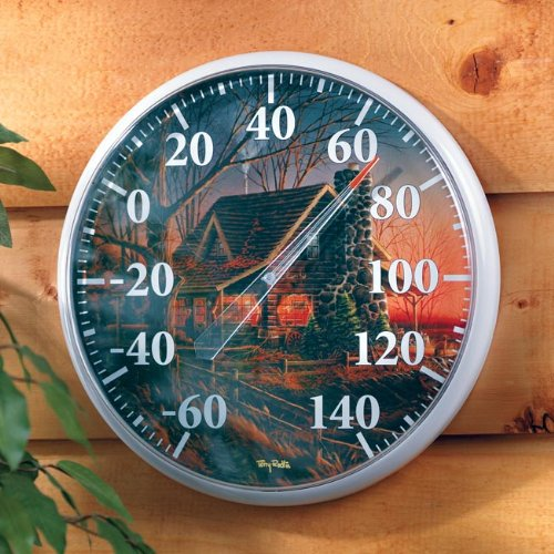 Comforts of Home Cabin Thermometer by Terry -