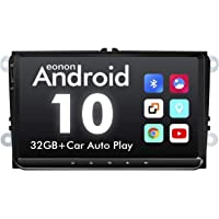 2021 Android Car Stereo, 9 Inch Android 10 Car Setreo, 32GB ROM Car Radio Head Unit for Volkswagen/SEAT/Skoda Compatible…