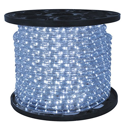 38 in led high output cool white rope light 2 wire 12 led high output cool white rope light aloadofball Choice Image