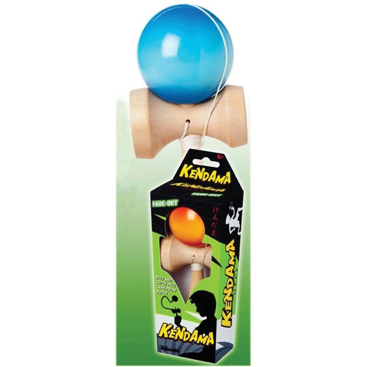 Toysmith Kendama Fade-Out Toy, colors may vary by Toysmith TSM2014