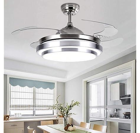 Ventilador de Techo con la lámpara de luz LED, 36W Ventilador ...