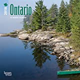 Ontario 2018 7 x 7 Inch Monthly Mini Wall Calendar, Canada Canadian City