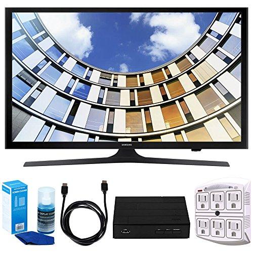 "Samsung UN50M5300 Flat 50"" 1080p LED SmartTV  w/ Tuner Bundl"