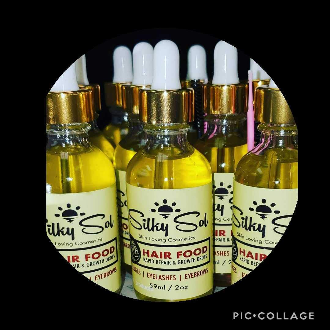 Silky Sol's Hair Food Fermented Oils for Instant Repair, Growth & Thickening of Hair by Silky Sol