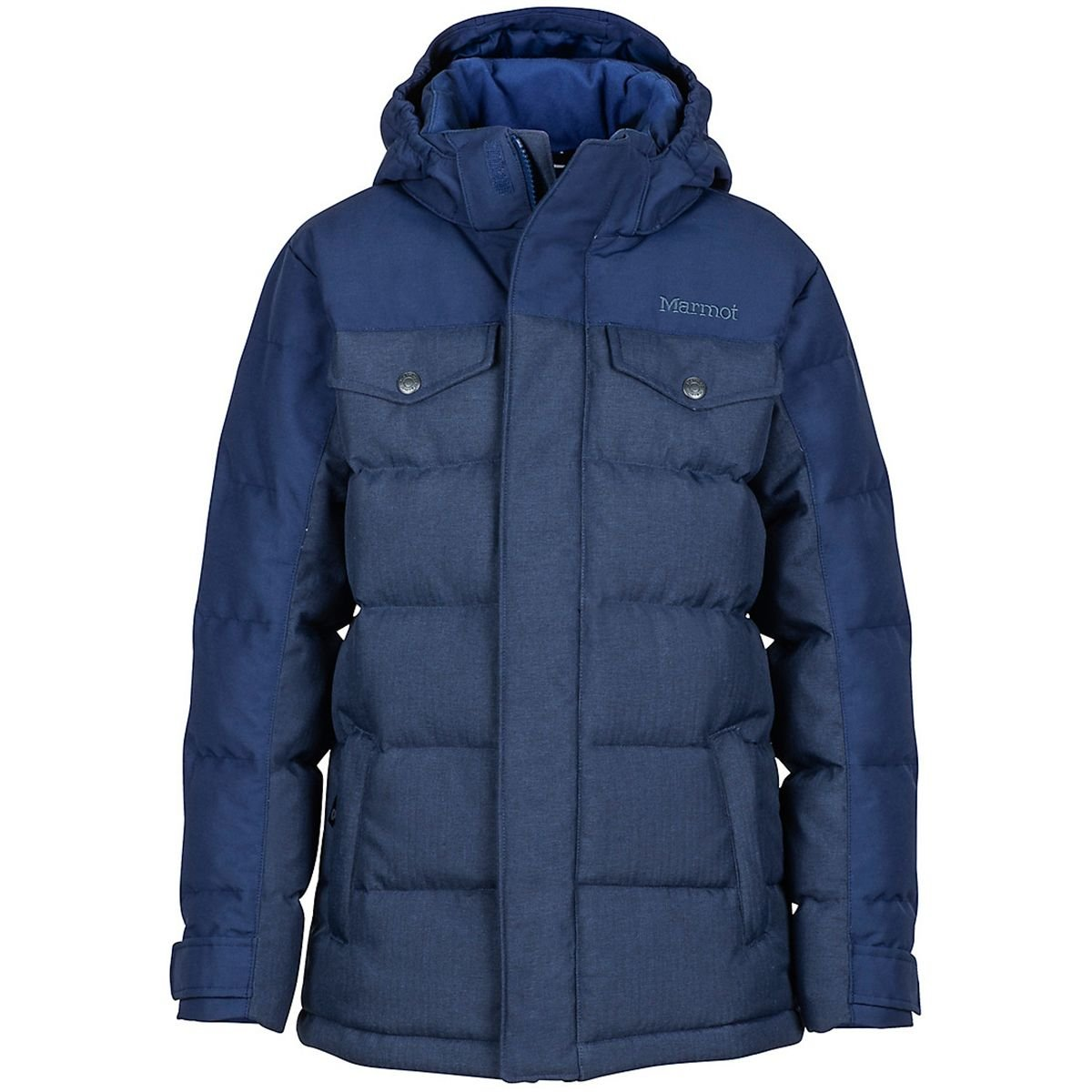 Marmot Fordham Down Jacket - Boys' Arctic Navy, L