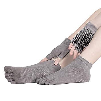 Sunbeter Yoga Socks and Gloves Set 89d039322f