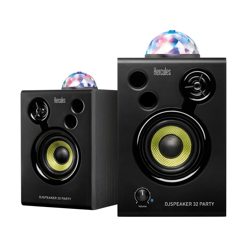 Hercules DJSpeaker 32 Party | 15-Watt RMS monitor speakers with tempo-synced light show by Hercules DJ (Image #3)
