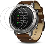 Zshion Screen Protector for Garmin Fenix Chronos ,9H Hardness Tempered Glass Screen Protector for Garmin Fenix Chronos  with