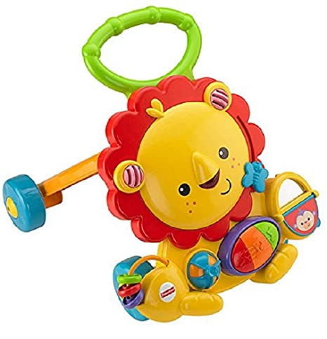 7a99bcc87 Buy Fisher-Price Musical Walker Lion Online at Low Prices in India ...