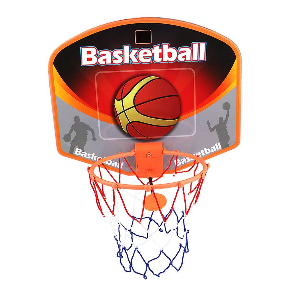 Flameer Basketball Hoop Board Plastic Backboard Indoor Outdoor Sports Game Hanging