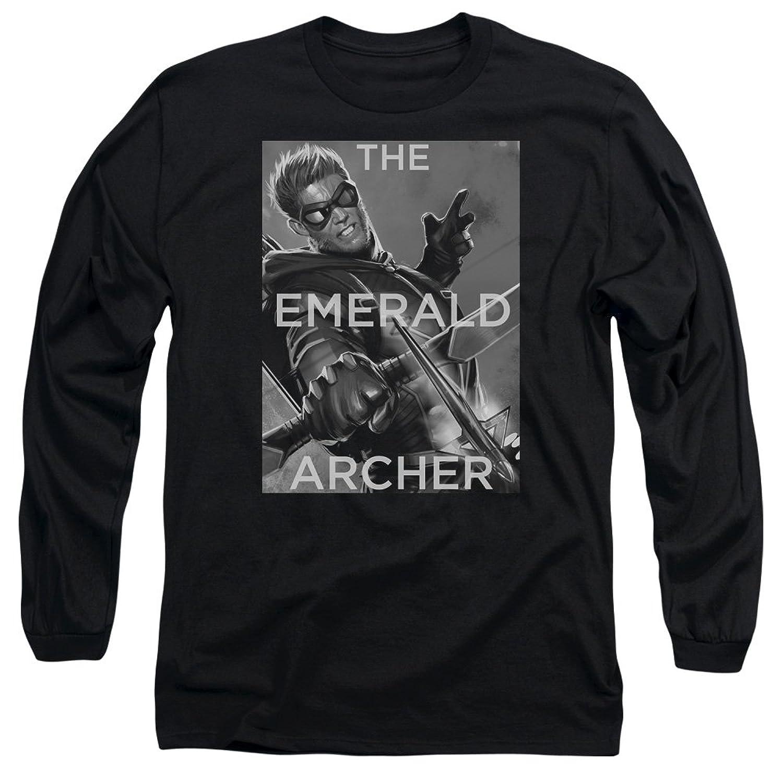 Justice League Men's Trigger Long Sleeve T-Shirt