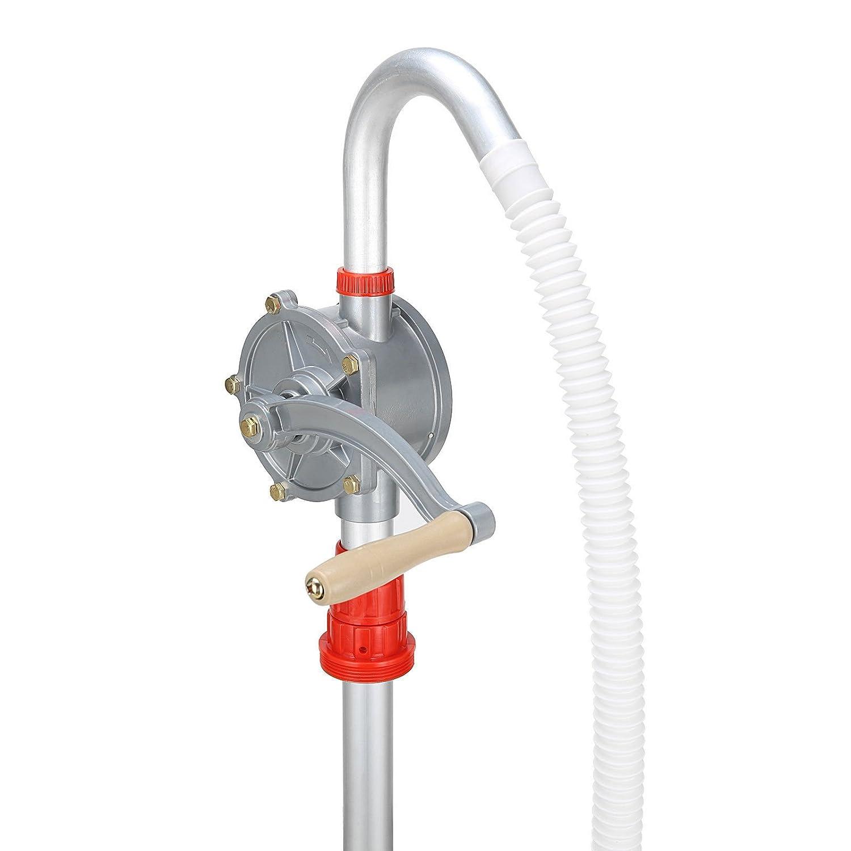 Zerone Pompe à Manivelle, Pompe à Huile en Alliage d'Aluminium Pompe de Carburant d'Essence de Diesel d'Huile de Lubrification et Plus