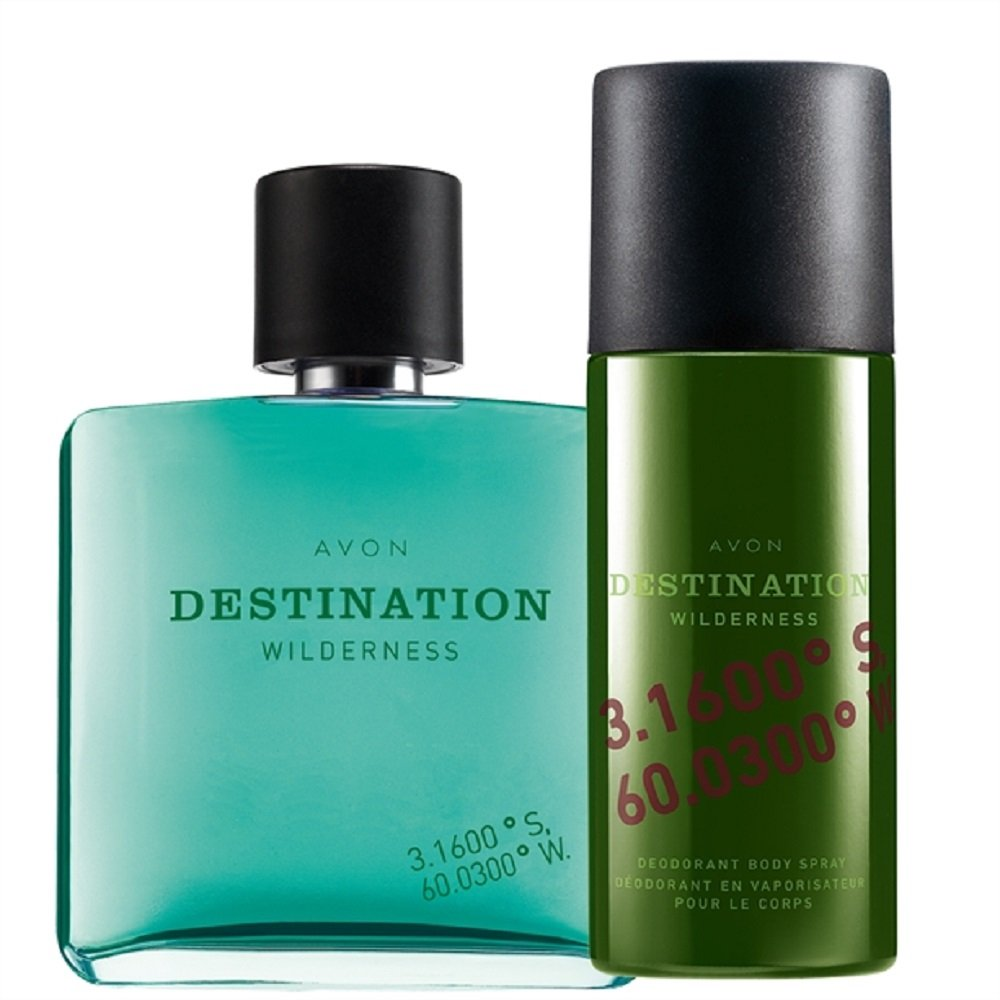 Avon Destination Wilderness EDT and Body Spray