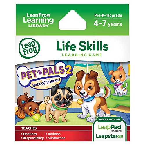 Software : LeapFrog Pet Pals 2 Learning Game (works with LeapPad Tablets, LeapsterGS, and Leapster Explorer)