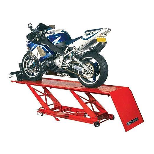 Clarke cml3 Pedal hidráulico Moto Lift: Amazon.es: Jardín