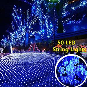 amazoncom blue path lights landscape lighting tools home improvement - Reflector Christmas Lights