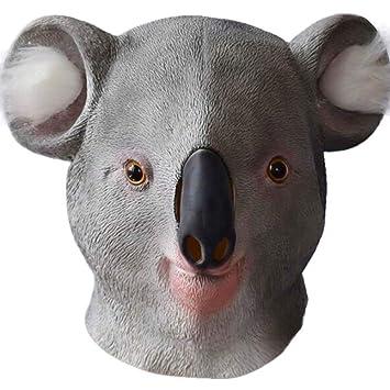 YC Máscara De Koala Divertida, Novedad Fiesta De Disfraces De ...