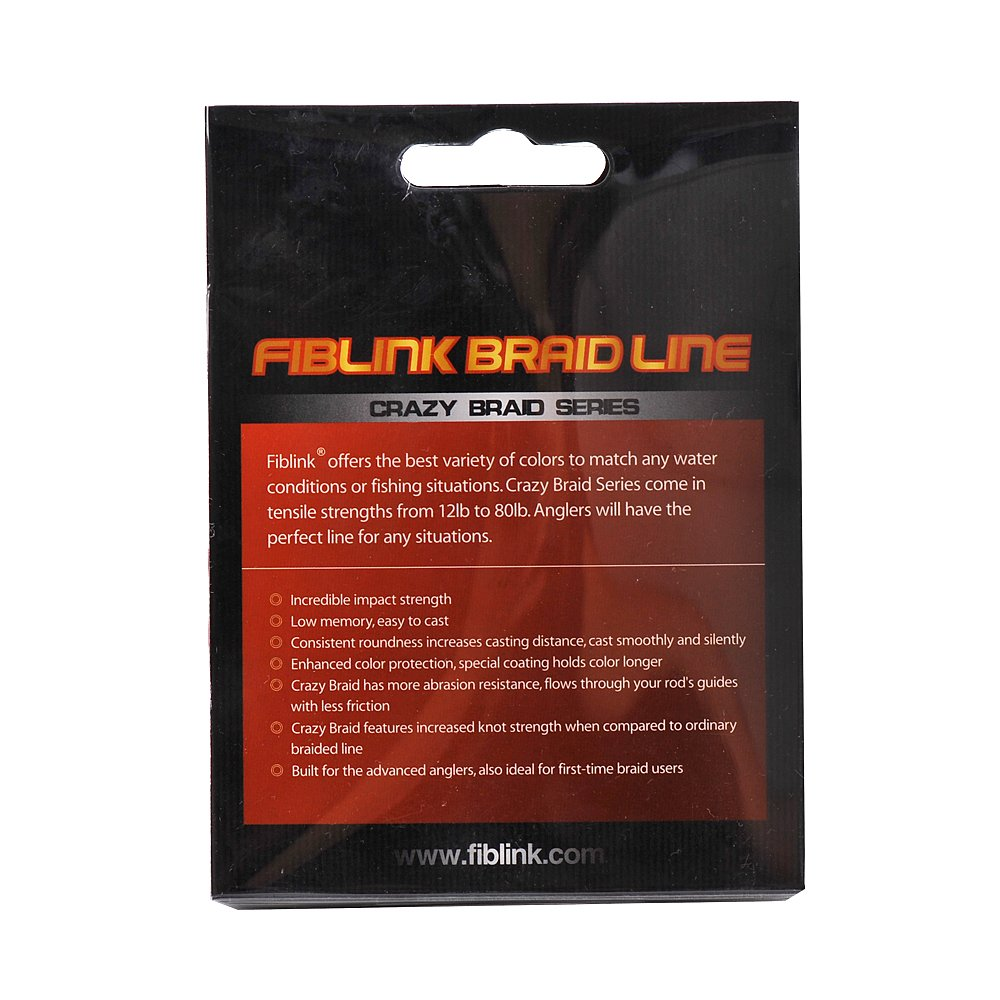 Amazon.com : [Clearance Sale] Fiblink Braided Fishing Line 300 Yards ...