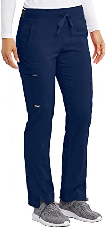 Grey's Anatomy Spandex-Stretch Kim Pant for Women– Easy Care Medical Scrub Pant