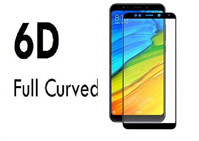 S Softline 6D Tempered Glass for Mi Redmi Note 5  Black  Screen guards