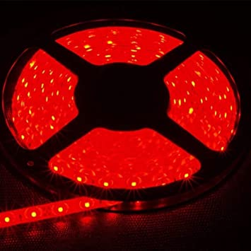 12V 600 LEDs 3528 SMD Led Strip Light Waterproof Cool White Blue Green Red Pink