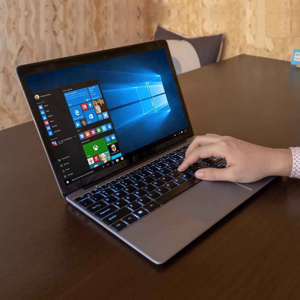 CHUWI Lapbook SE Ordenador Portatil 13.3 IPS 2.5D OGS Notebook Laptop Ultrabook,4GB RAM 64GB eMMC+128G SSD,Windows 10 Intel Gemini-Lake N4100 hasta 2.4GHz ...