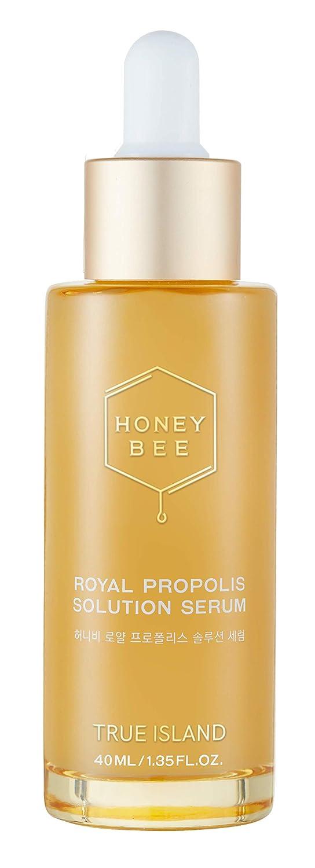 [TRUE ISLAND] HONEY BEE ROYAL PROPOLIS SERUM - 40ml / 1.35 fl.oz. l Soft Honey Royal Jelly Essence Propolis Serum