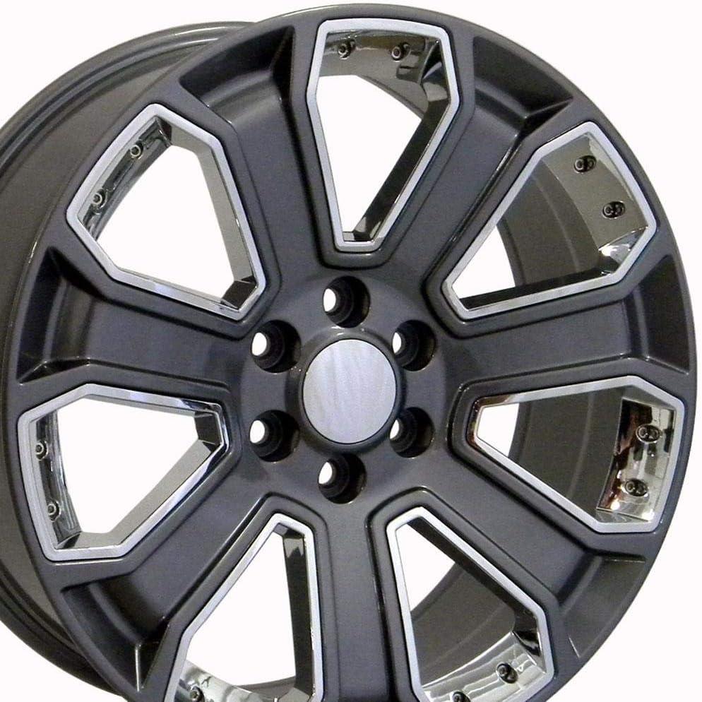 22 inch Gunmetal Rim fits Cadillac Escalade EXT 2007-2018