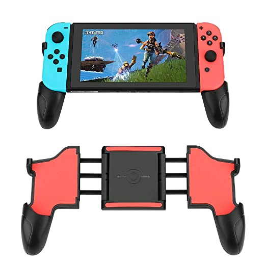E-More Grip para Nintendo Switch, Joy-Con Foldable Grip para ...