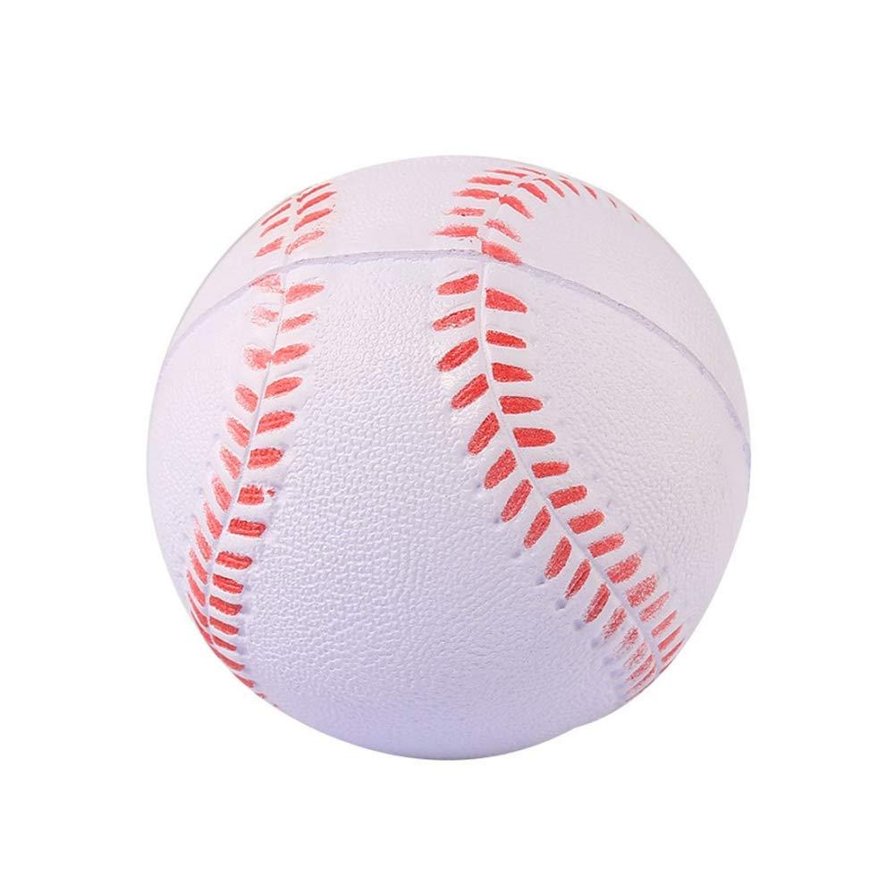 Balight 1pcs White Safety Kid B/éisbol B/éisbol Entrenamiento de pr/áctica UP Juego de Equipo Deportivo Pelotas de Softball para ni/ños