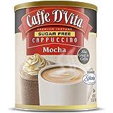 Caffe D'Vita Sugar Free Mocha Cappuccino 8.5 oz. can