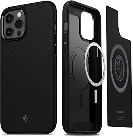 Spigen Mag Armor Hülle Kompatibel Mit Iphone 12 Pro Max Elektronik