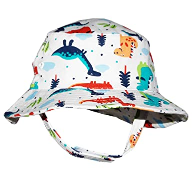 40d80639 Hisharry Toddler Boy Bucket Hat- Cute Baby Girl Kids Sun UV Protection  Animal Hat 18.8""