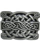 GoGou Mens Celtic Knot Buckle Vintage Western Belt Buckle