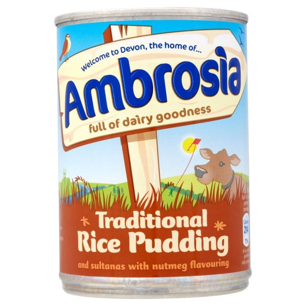 Ambrosia Traditional Rice Pudding with Sultanas & Nutmeg (400g)