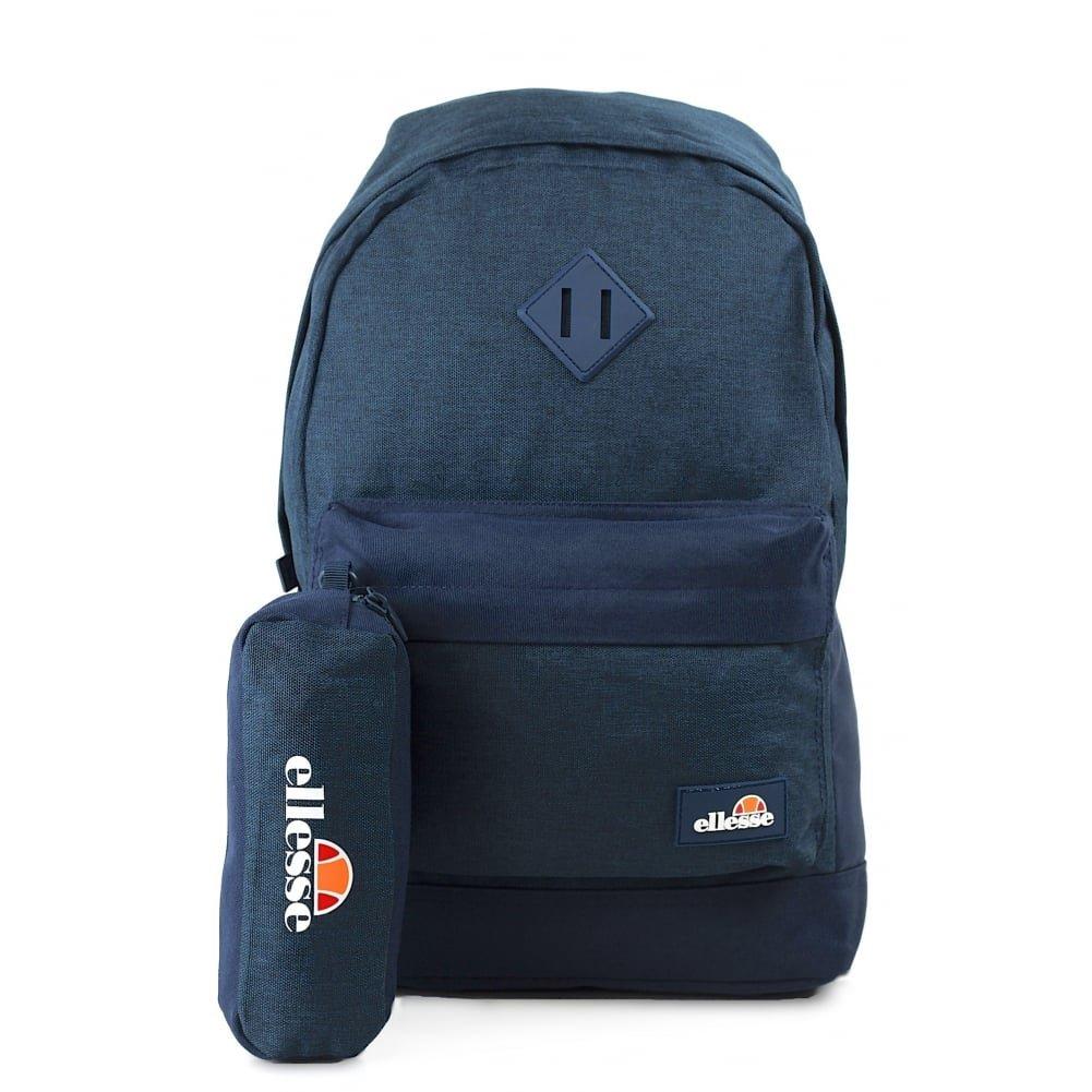 ELLESSE Fonza Backpack Navy School Bag SHAU0484 - FREE PENCIL CASE  Amazon. co.uk  Luggage 9a6db409ba6fd