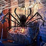Halloween Spider Decorations for Outdoor Haunt House Halloween Indoor Home Decorations (125CM)