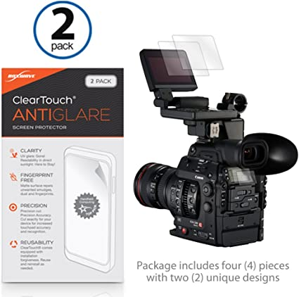 2-Pack Anti-Fingerprint Matte Film Skin for Olympus TG-5 Olympus TG-5 Screen Protector BoxWave/® ClearTouch Anti-Glare
