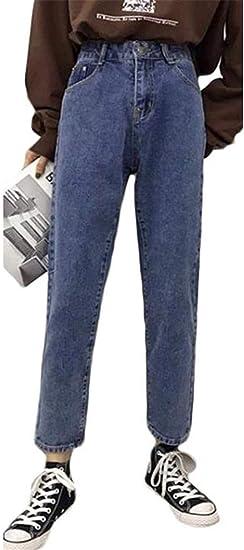 [エージョン]レディース デニム ワイドパンツ ゆったり ロングパンツ ストレート ジーンズ 韓国ファッション ストレートパンツ 原宿系