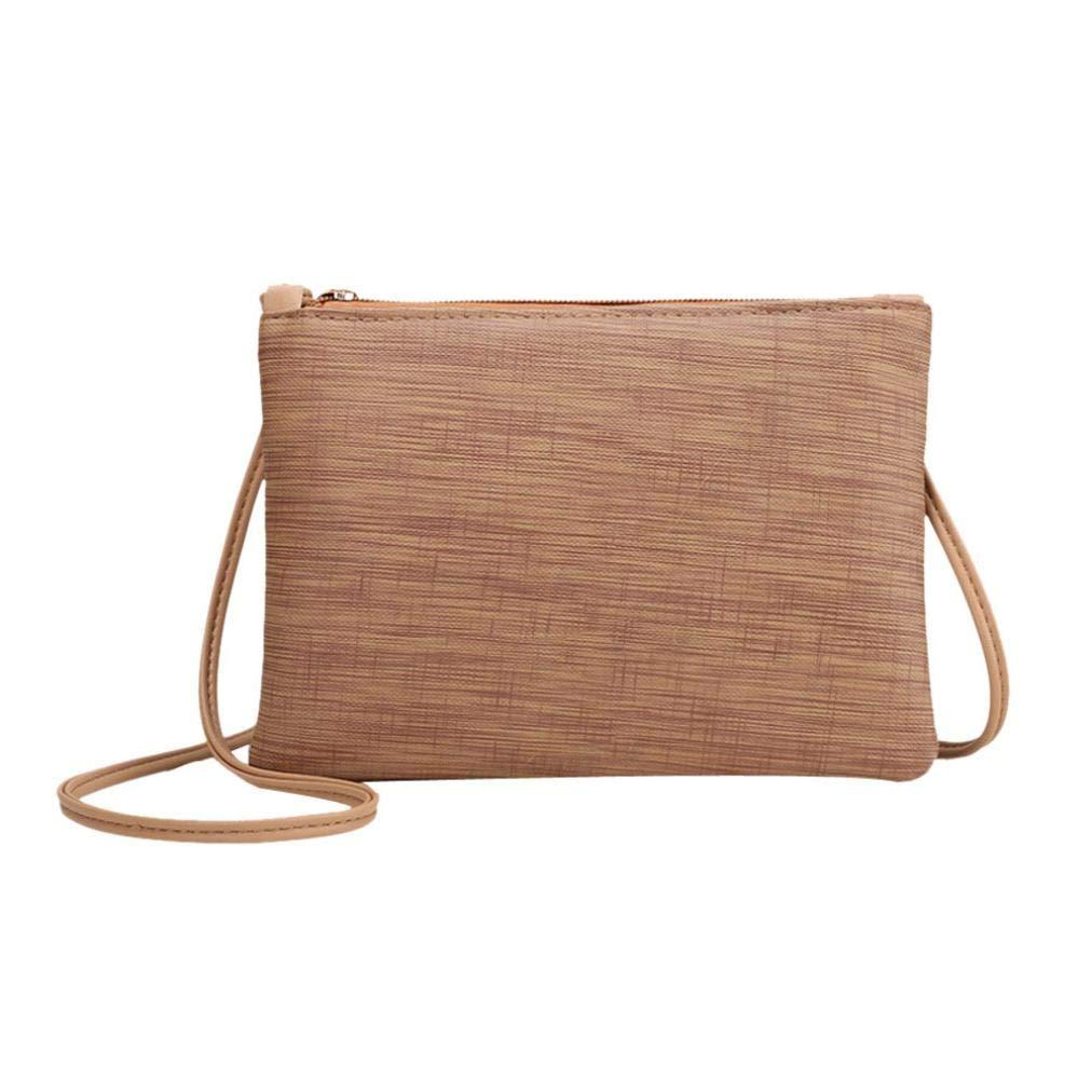 4b4bebd7effd Wobuoke Women Retro Brief Bag Shoulder Bag Messenger Bags Tote ...