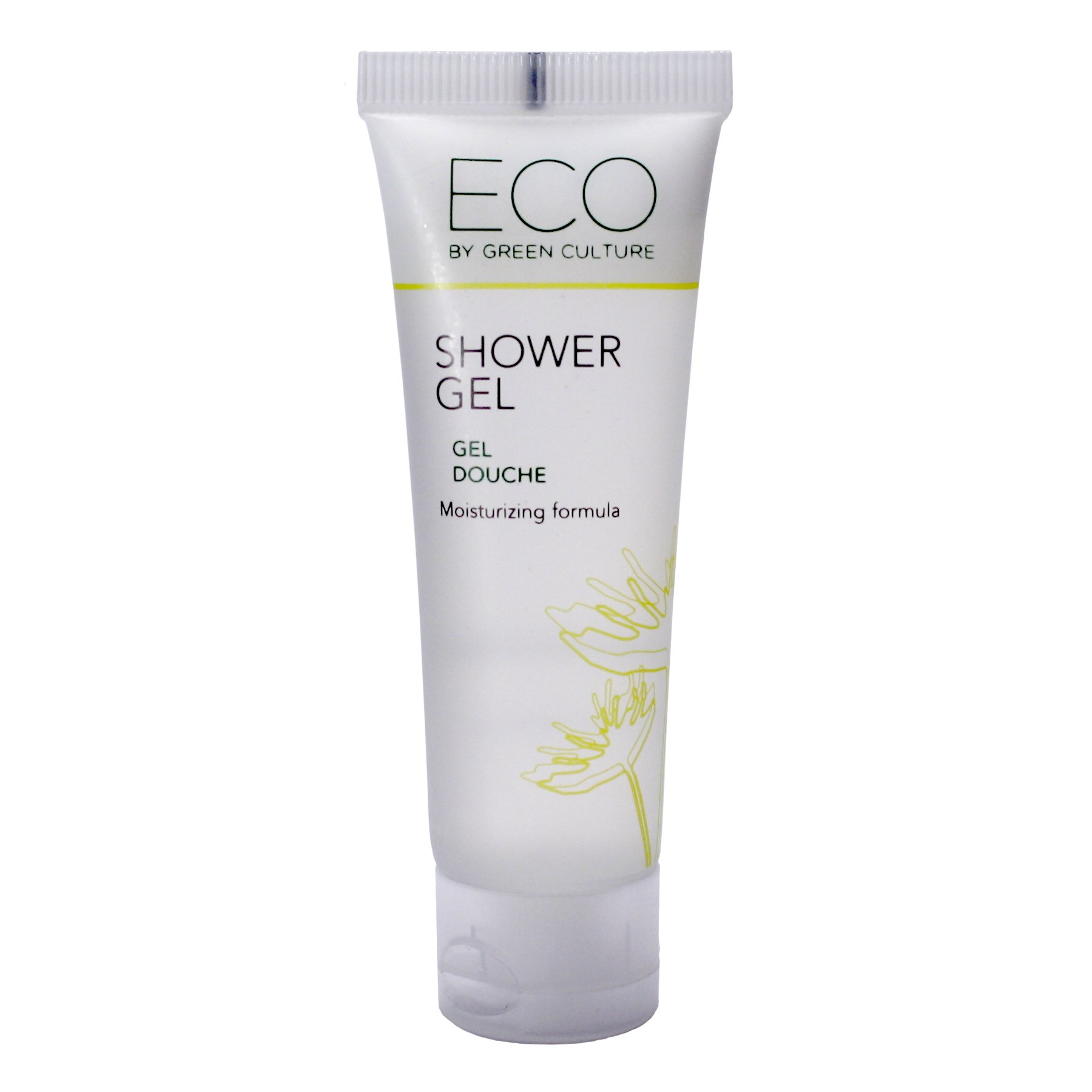 Eco by Green Culture Hotel Amenities Travel Sized Bath & Shower Gel 30ml (288 Pack)